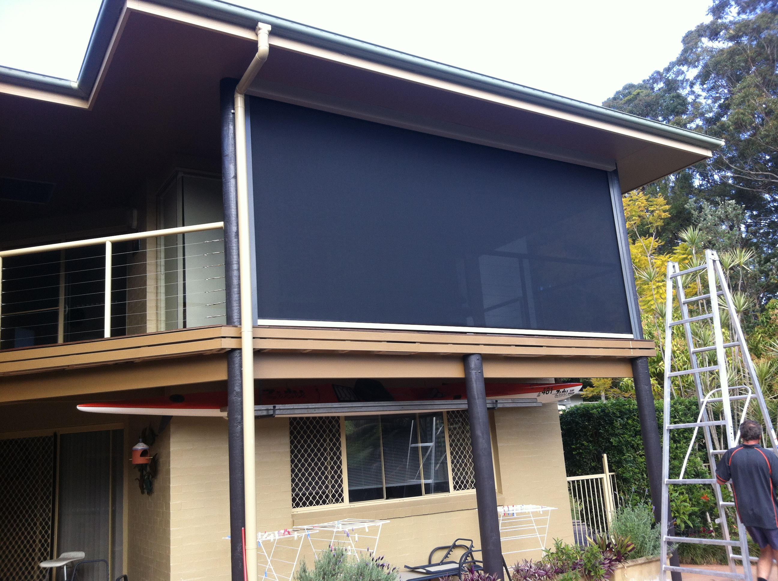 ideas panels for in decor systems enclosure screened kits with make and your home outdoor screen patio deck porch design